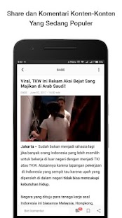 App BaBe+ - Berita Indonesia APK for Windows Phone