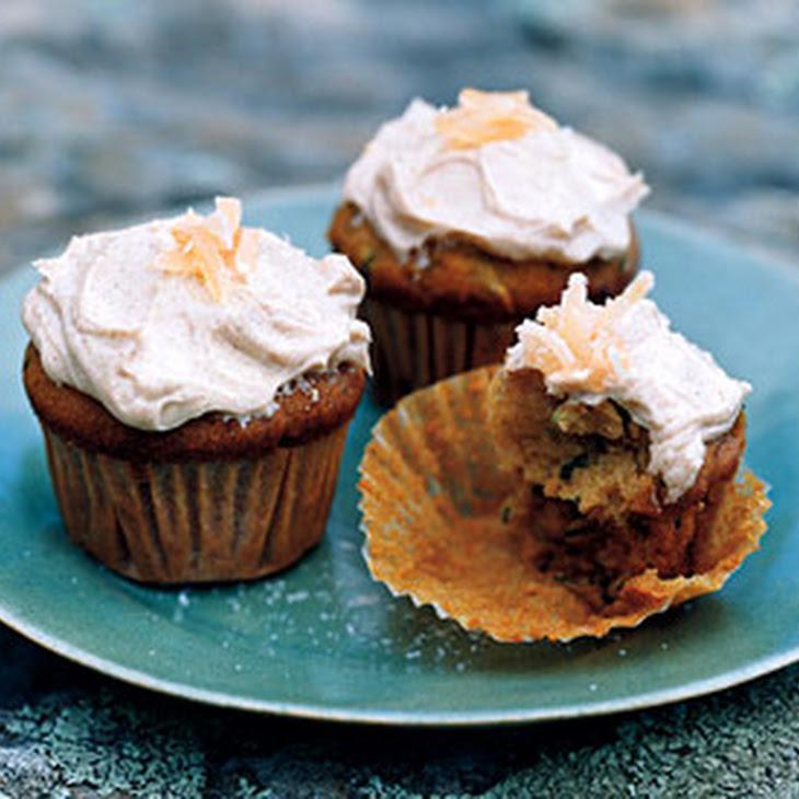 Zucchini Ginger Cupcakes Recipe | Yummly