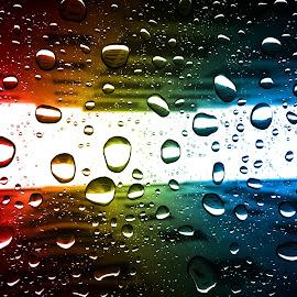 Rain & Rainbow by Babar Swaleheen - Instagram & Mobile iPhone ( water, apple, architecture, iphone, rainbow, rain )