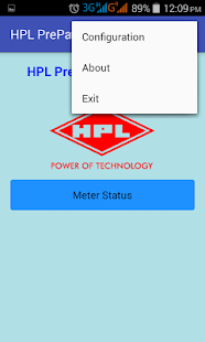 HPL PrePay - screenshot