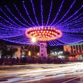 Perayaan Imlek di Kota Solo by Frendy Aditya - City,  Street & Park  Night (  )