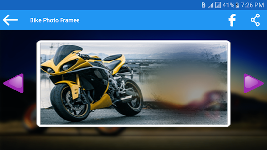 Bike Photo Frames - screenshot