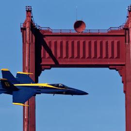 Angel Pilot by Raphael RaCcoon - Transportation Airplanes ( airplane, jet, blue angels )