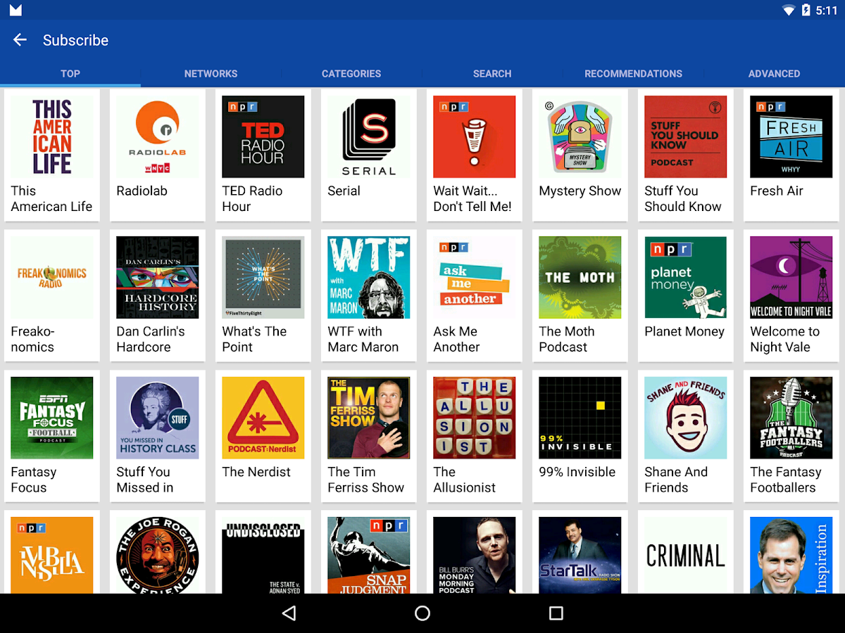 DoggCatcher Podcast Player Screenshot 13