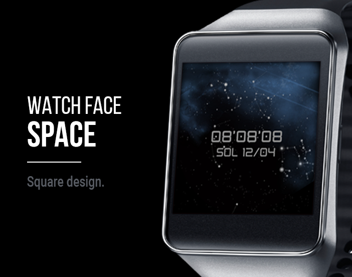 Watch Face: Space Screenshot 5