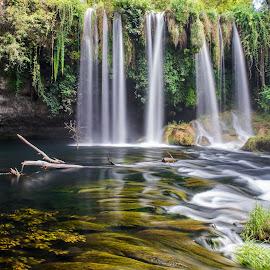 Duden Waterfall by Arif Sarıyıldız - Landscapes Travel ( duden waterfall, travel photography, turkey, antalya, long exposure )