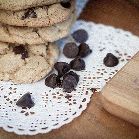 Brown Butter Whole Wheat Chocolate Chip Cookies