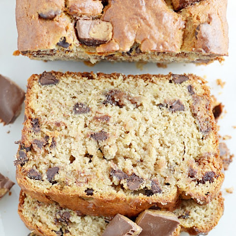 Reese's Cup Peanut Butter Banana Bread