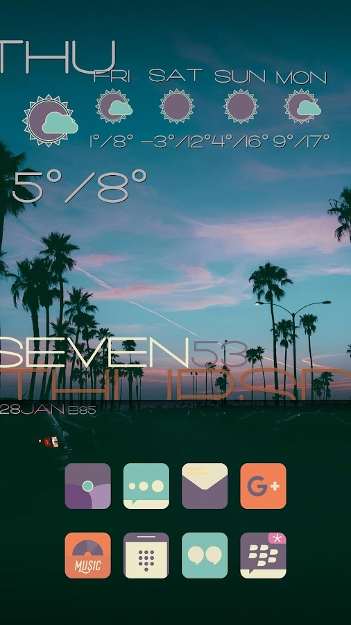 Zai  Weather Komponents Kustom Screenshot 6