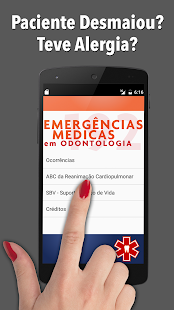 Emergência Médica Odontologia screenshot for Android