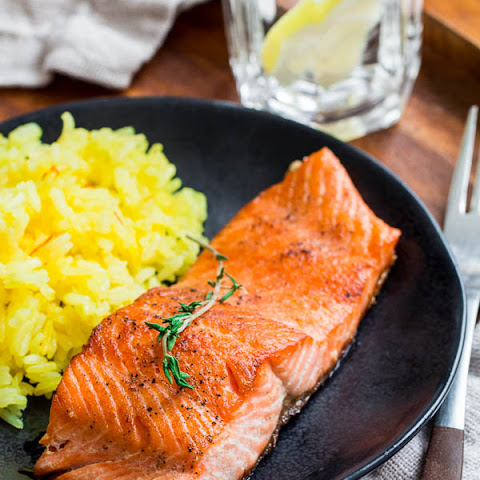 Pan-Fried Trout with Lemon Thyme Butter