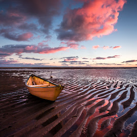 Point of Rocks Beach by David Long - Landscapes Travel ( brewster, point of rocks, cape cod )