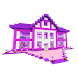 Pink House Minecraft for Girls Princess Games