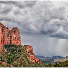 Chasing Monsoons  by Costa Panagopoulos - Landscapes Cloud Formations ( birthday, monsoons, chasing, zion, roadtrip )