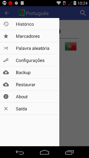 Portuguese Dictionary Offline screenshot 6