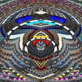 by John Geddes - Digital Art Abstract