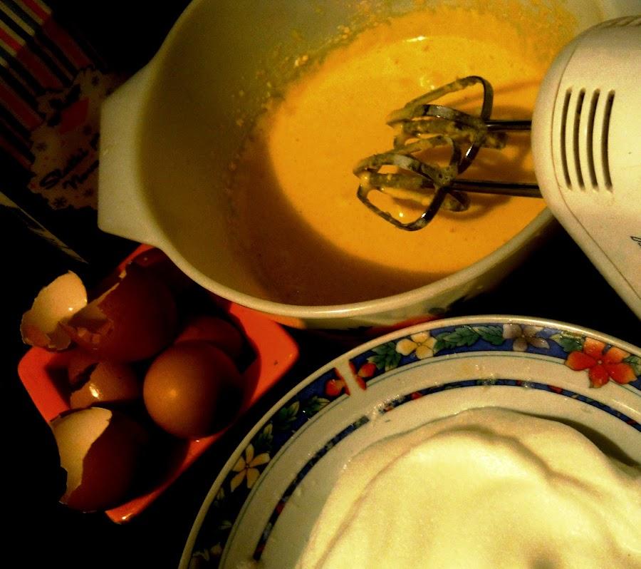 in the process by Vesna S. Disić - Food & Drink Cooking & Baking ( cake, detail, food, baking, light, preparing )