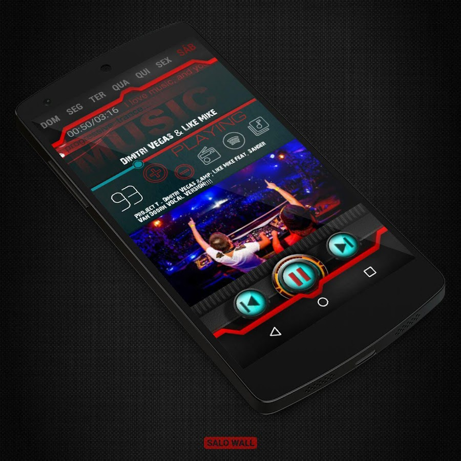 KLWP 2 Themes Futuristic Screenshot 6