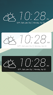 Zooper HTC Sense 7 Widgets - screenshot