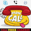 Voice changer during call