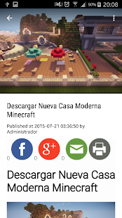 MineDesc - Minecraft Descargas - screenshot