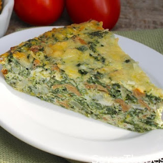 Crustless Spinach Quiche With Cottage Cheese Recipes