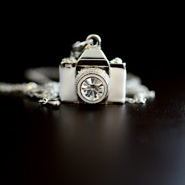 Mini Camera by Andreea Mihailiuc - Artistic Objects Other Objects ( black and white, camera, mini )