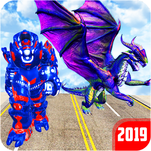 Grand US Dragon Robot Battle 3D For PC / Windows 7/8/10 / Mac – Free Download