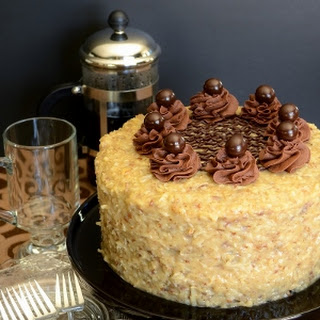 German Chocolate Cake With Caramel Recipes
