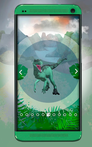 Dinosaurs 3D Coloring Book screenshot 5