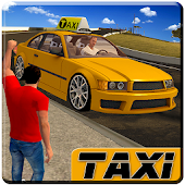 Stadt Taxi Treiber 0016 Taxi