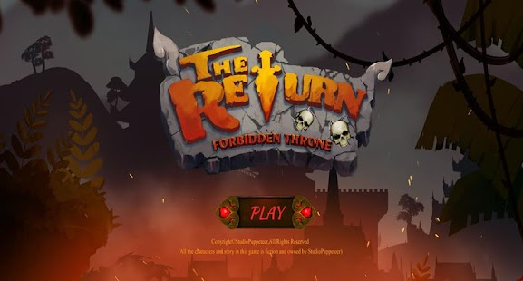 The Return : Forbidden Throne Screenshot