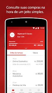App Hipercard Controle seu cartão APK for Windows Phone
