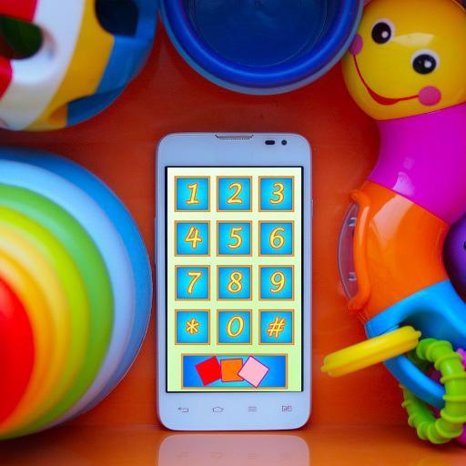 Детский телефон на русском (app)