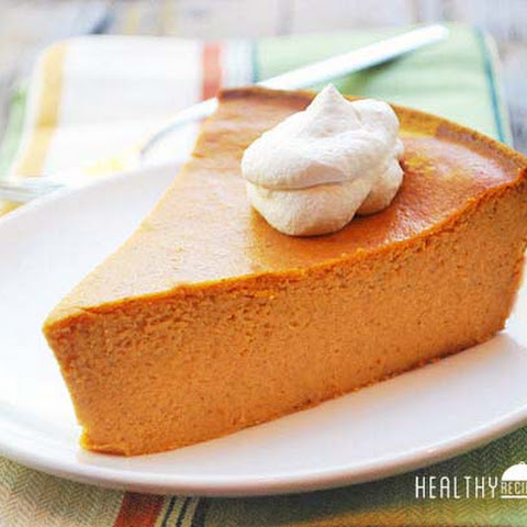 Crustless Pumpkin Pie