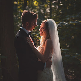 Natural Love by Daniel Anghelache - Wedding Bride & Groom ( wedding, bride, groom, photography )