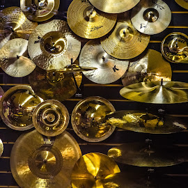 Cymbals by Dave Lipchen - Artistic Objects Musical Instruments ( cymbals )