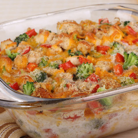 Chicken Broccoli And Red Pepper Casserole
