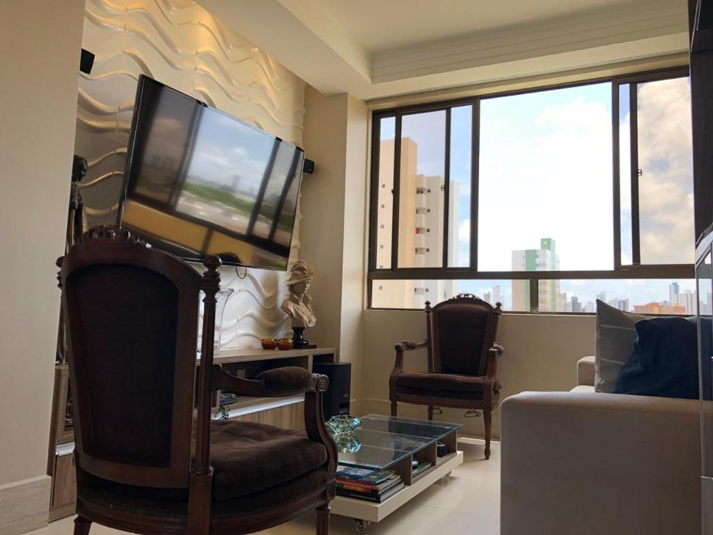 Apartamento com 2 dormitórios à venda, 64 m² por R$ 270.000 - Aeroclube - João Pessoa/PB