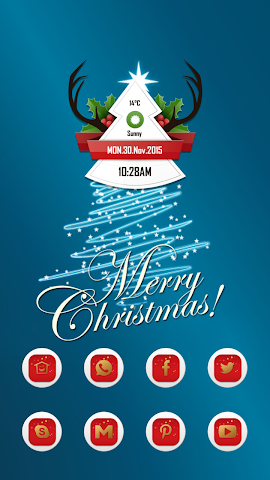 android Christmas warmth Screenshot 0