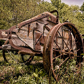 Yesteryear by Tony Allison - Artistic Objects Industrial Objects ( farm, rural, decay )