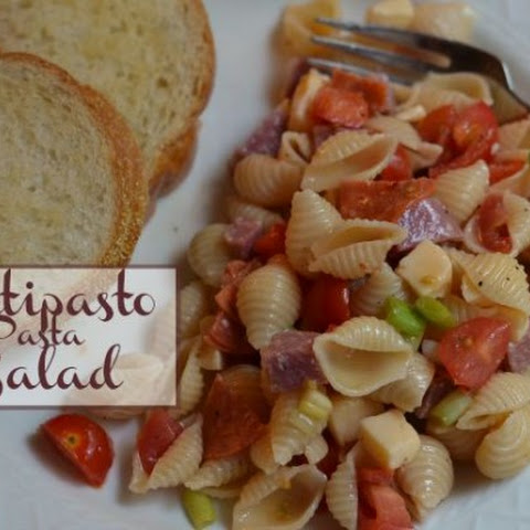 Antipasto Pasta Salad ~ Guest Post ~