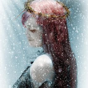 by Stephen Hooton - Digital Art People ( portrait female, chantel, people )