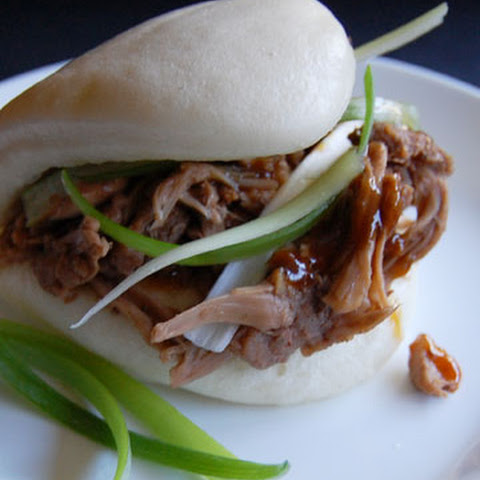 Chinese 5-spice Jackfruit With Steamed Buns