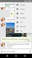 Screenshot of Threema. Secure Messenger