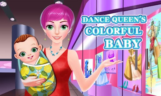 Dance Queen's Colorful Baby