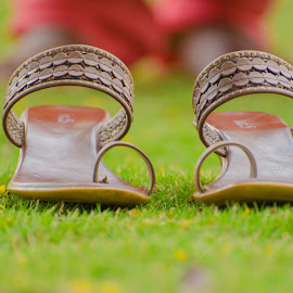 A different Perspective !! by Prathap Gangireddy - Artistic Objects Clothing & Accessories ( accessory, slipper, footwear, lady, sandals, accessories )