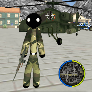 US Army Stickman Rope Hero counter OffRoad For PC / Windows 7/8/10 / Mac – Free Download