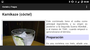 Screenshot of Coctel y Tragos