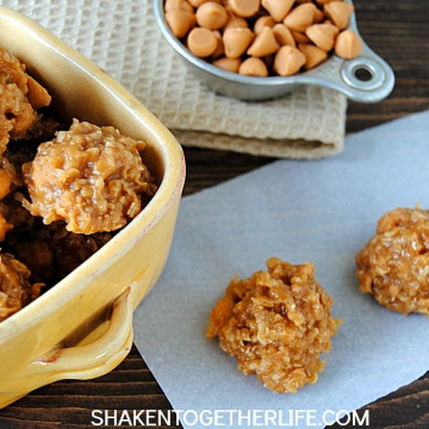 Oatmeal Scotchies No Bake Cookies
